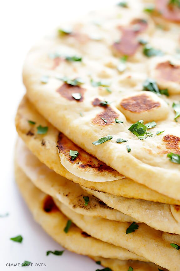 Homemade naan gimme some oven for Entrees simples