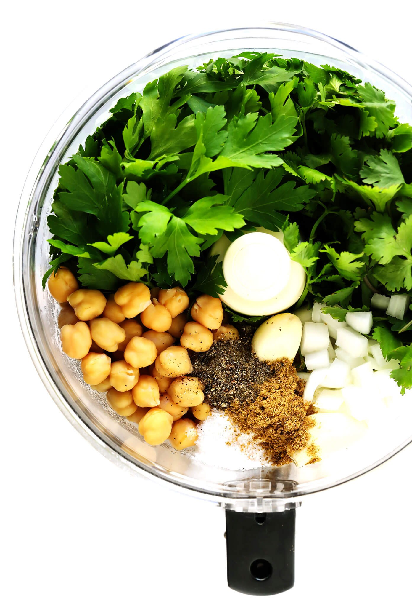 Homemade Falafel Ingredients