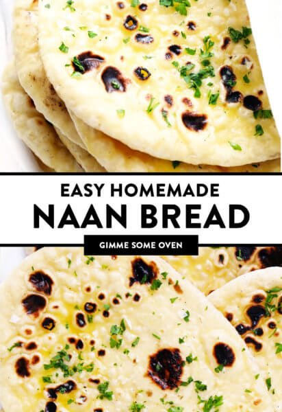 Easy Homemade Naan Bread