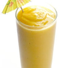 5-Ingredient Tropical Smoothie | gimmesomeoven.com