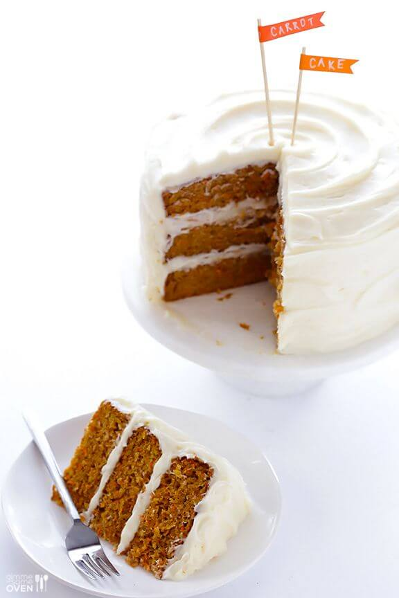 The Best Carrot Cake | gimmesomeoven.com