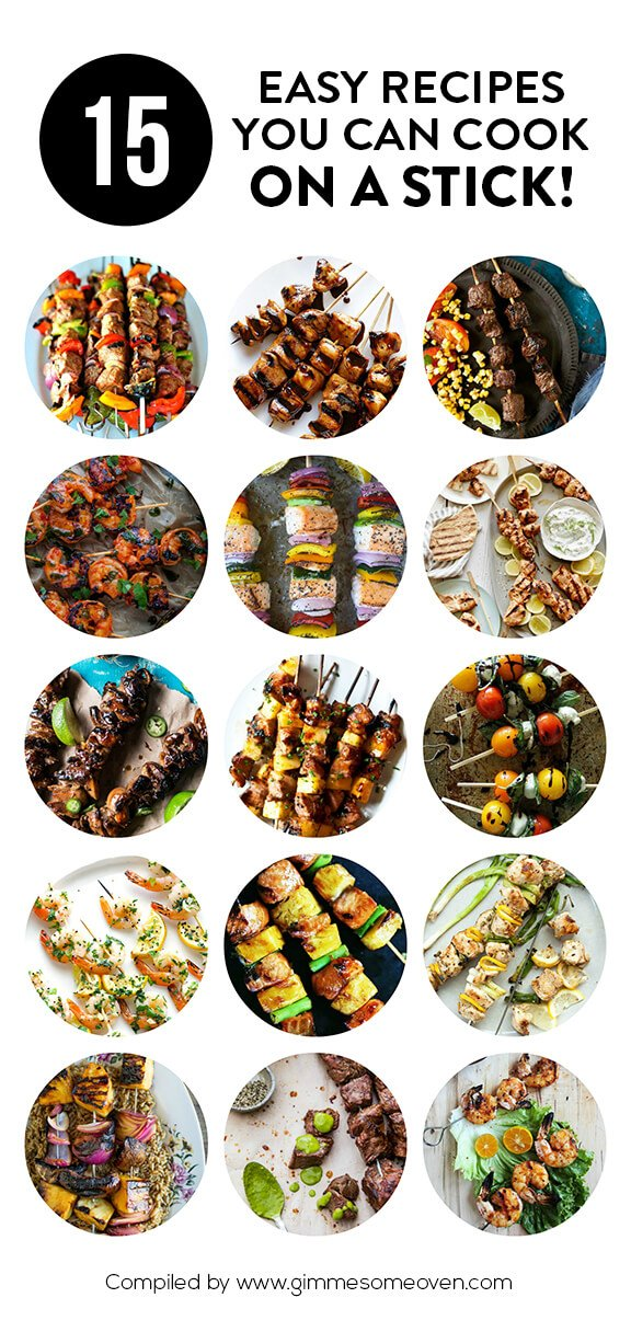 15 Recipes You Can Cook On A Stick | gimmesomeoven.com
