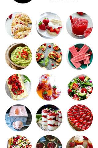 15 Strawberry Recipes | gimmesomeoven.com
