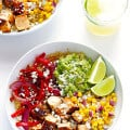 Chicken Quinoa Burrito Bowl 2