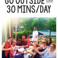 May Dare: Go Outside For 30 Minutes A Day | gimmesomeoven.com