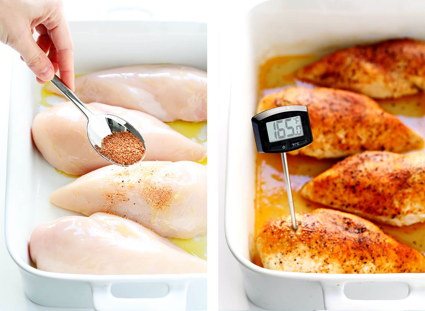 Baked Chicken Breast Seasoning