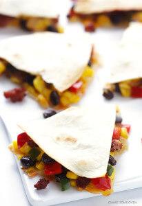 Southwestern Breakfast Quesadillas | Gimme Some Oven