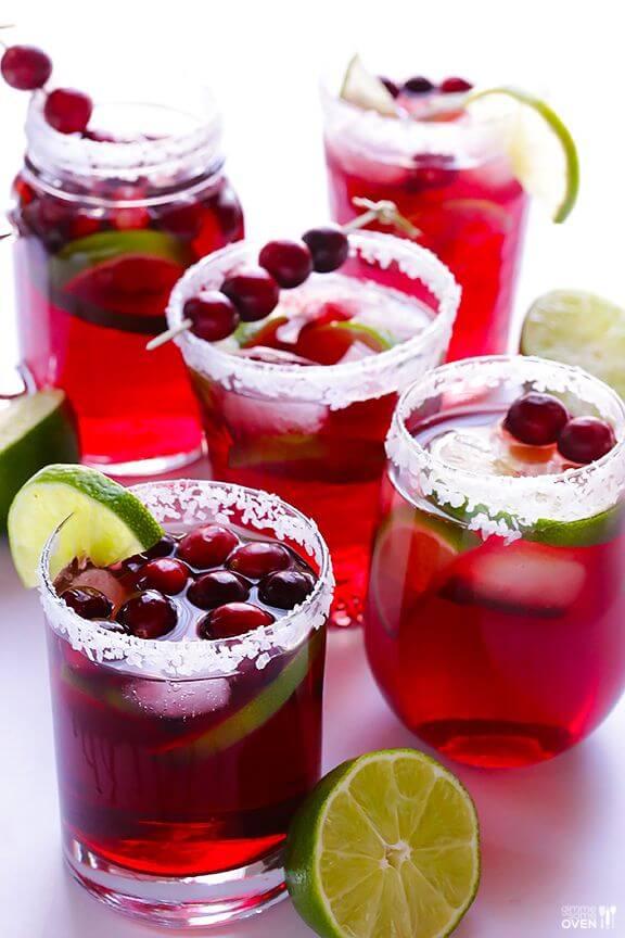 Cranberry Margaritas | gimmesomeoven.com