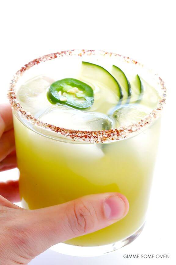 Cucumber Margarita Recipe — Dishmaps