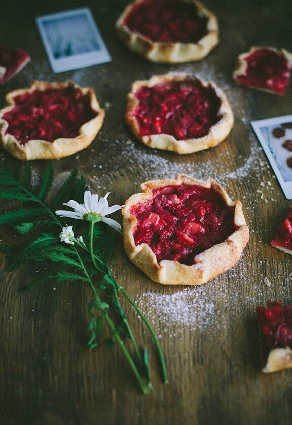 Mini Strawberry Galettes | call-me-cupcake.blogspot.in