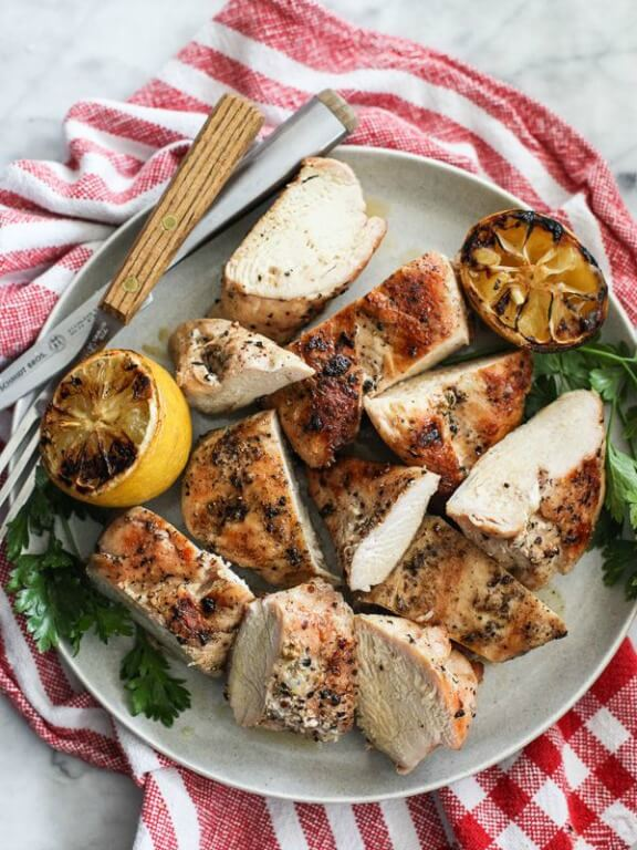 The Best Grilled Chicken Breast | foodiecrush.com