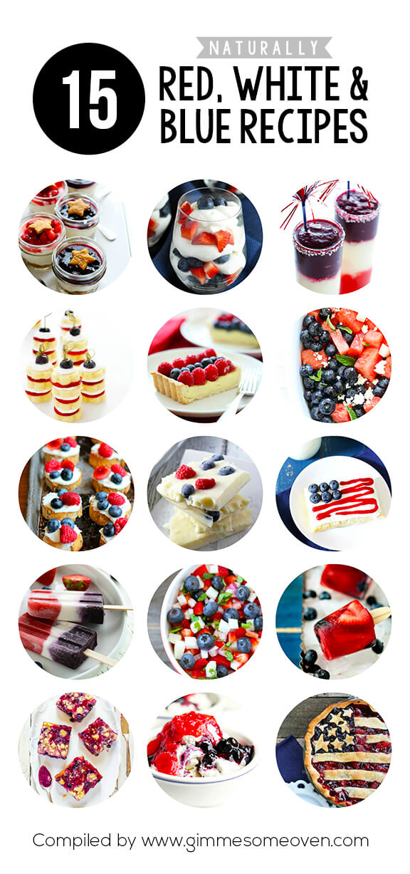 A delicious collection of recipes from food bloggers without any artificial food coloring required!   gimmesomeoven.com