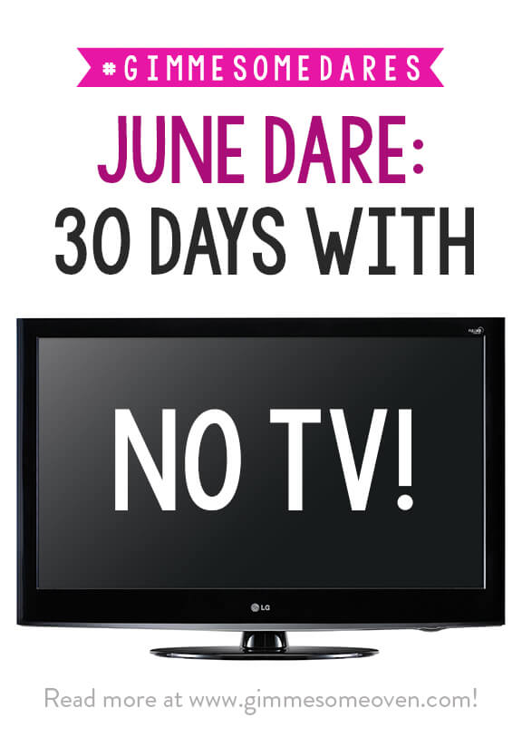 30 Days With No TV