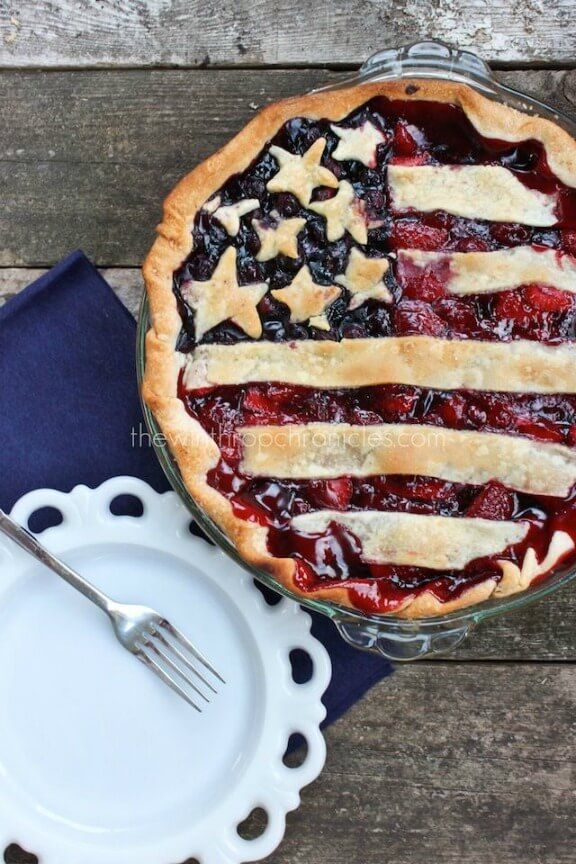 American Flag Pie   thewinthropchronicles.com