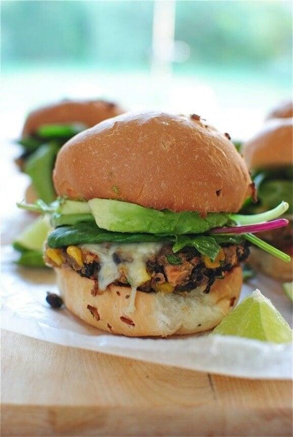 Chipotle Black Bean Burgers | bevcooks.com