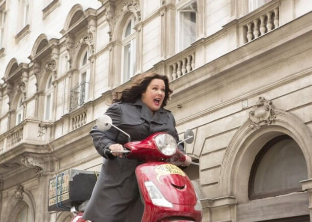 Melissa McCarthy in Paul Feig's Spy. Photo by Photo by Larry Horricks - © 2015 Twentieth Century Fox.