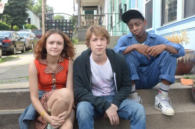 Olivia Cooke, Thomas Mann and RJ Cyler in Alfonso Gomez-Rejon's Me and Earl and the Dying Girl. Photo by Anne Marie Fox - © 2015 - Fox Searchlight