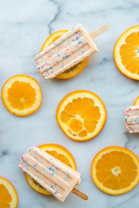 Funfetti Creamsicles | studiodiy.com