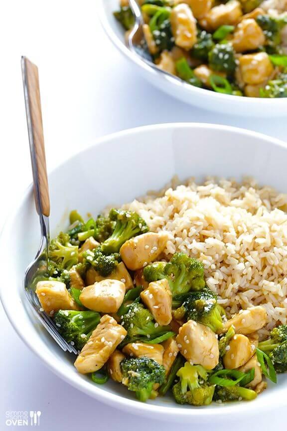 12-Minute Chicken and Broccoli   gimmesomeoven.com