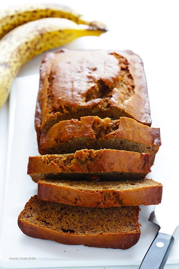Whole Wheat Chocolate Banana Bread