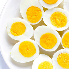 How To Make Perfect Hard-Boiled Eggs -- an easy step-by-step tutorial | gimmesomeoven.com