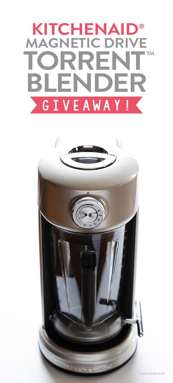 KitchenAid Torrent Blender Giveaway