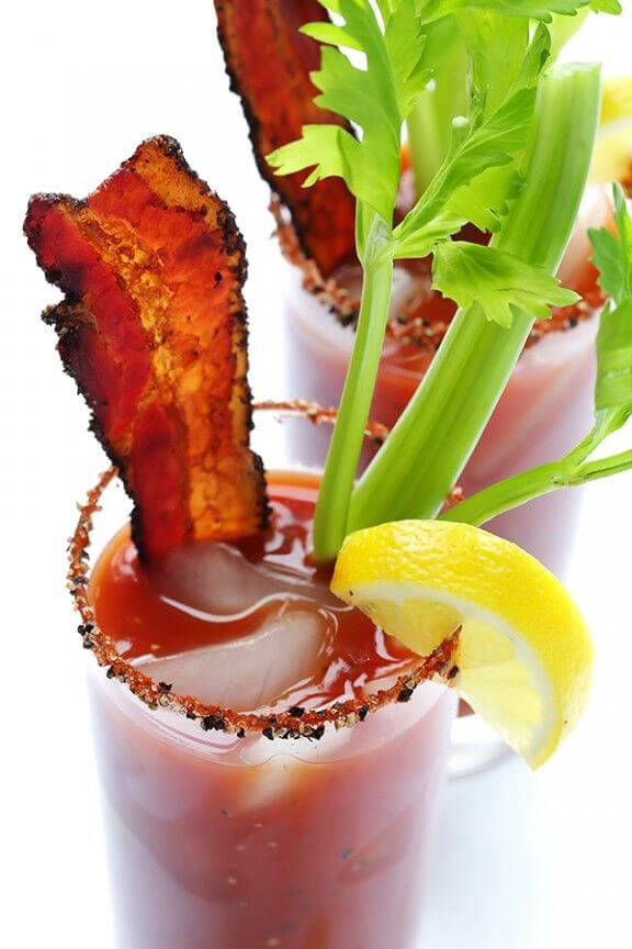 Peppered Bacon Bloody Mary | gimmesomeoven.com