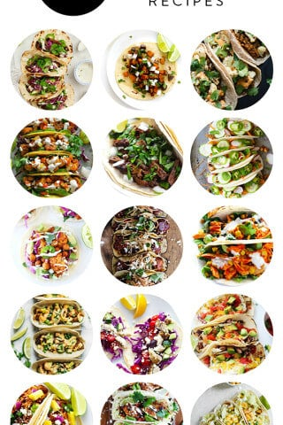 A delicious collection of 15 taco recipes from food bloggers | gimmesomeoven.com