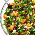 Roasted Butternut Squash, Kale and Cranberry Couscous -- a quick and easy meal that's so fresh and delicious! | gimmesomeoven.com