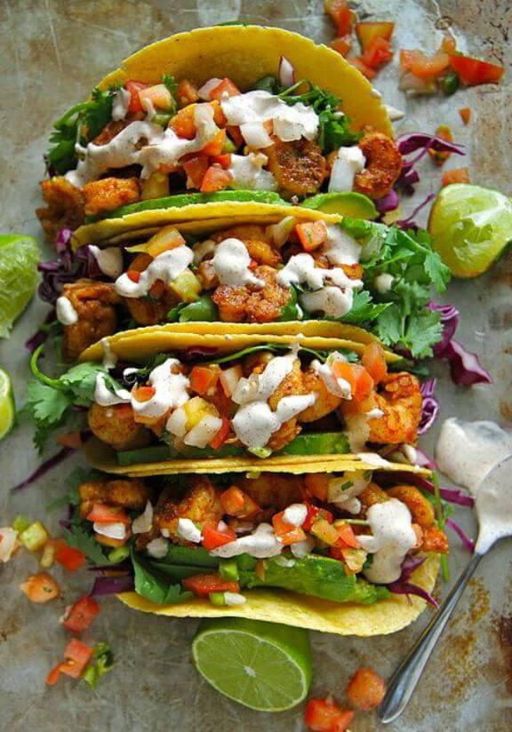Chipotle Shrimp Tacos | heatherchristo.com