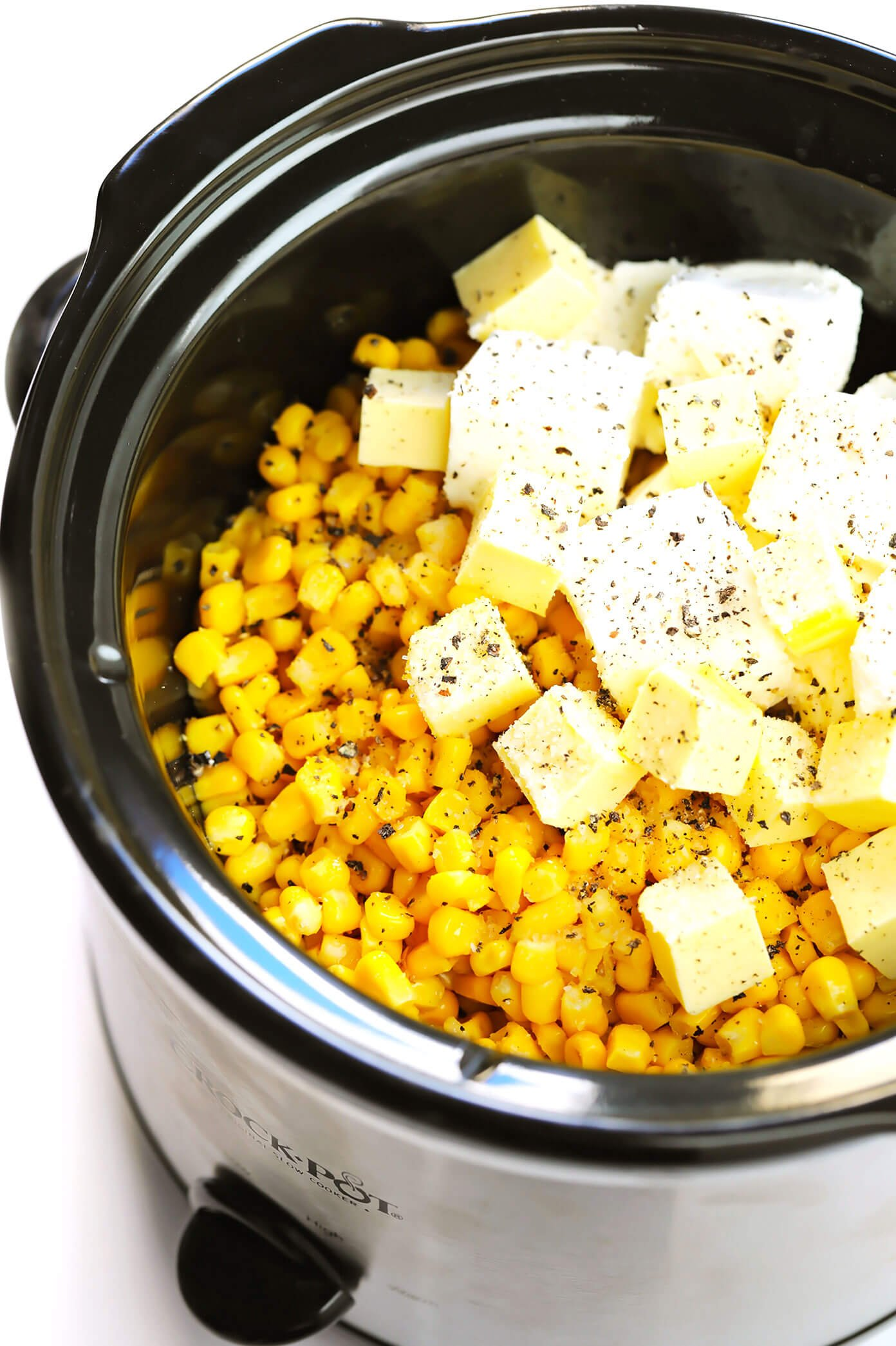 Crock Pot Creamed Corn Ingredients