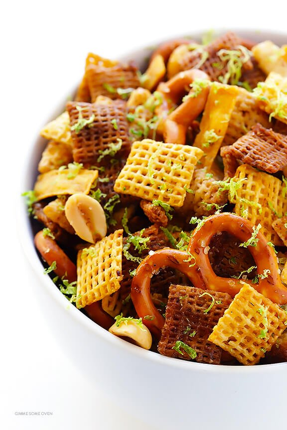 Tequila lime chex mix gimme some oven for Easy tequila recipes