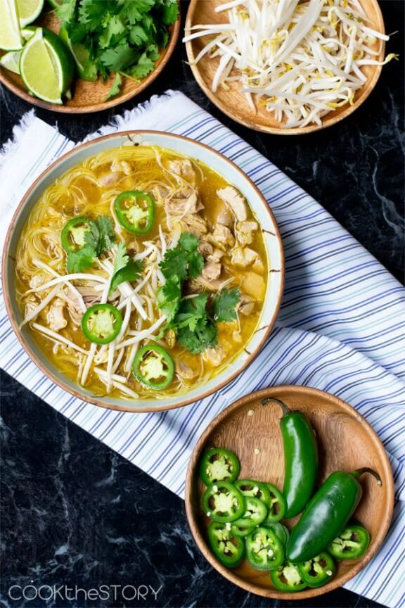 Leftover Turkey Pho | cookthestory.com