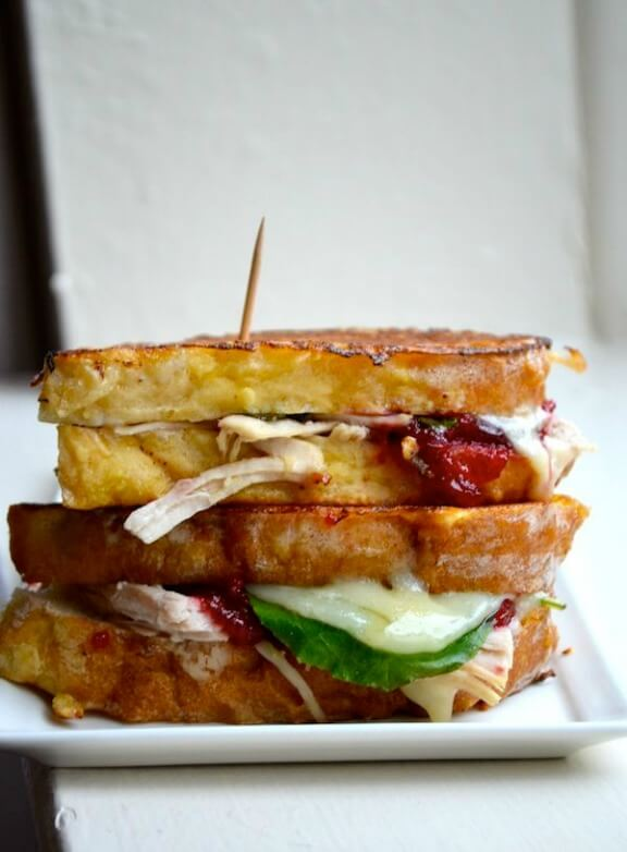 Turkey and Cranberry Monte Cristo | rachelschultz.com