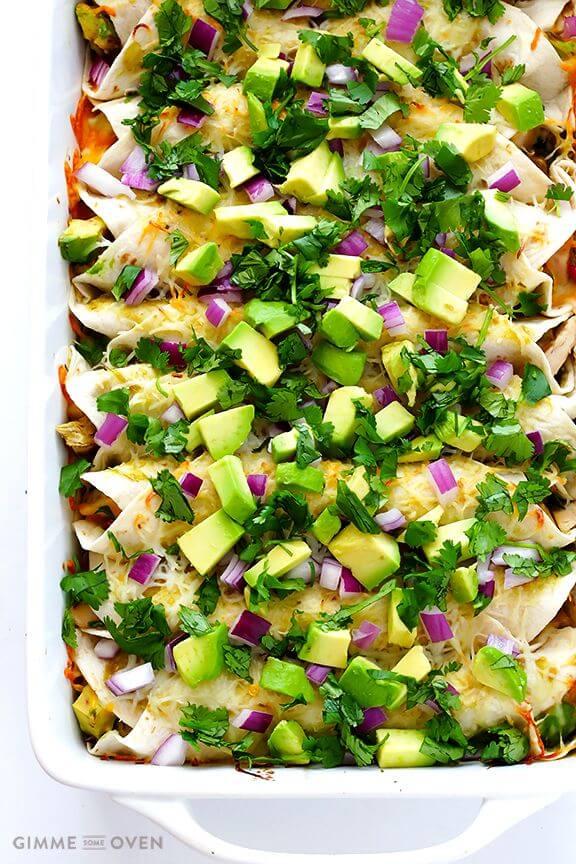 Turkey Enchiladas | gimmesomeoven.com