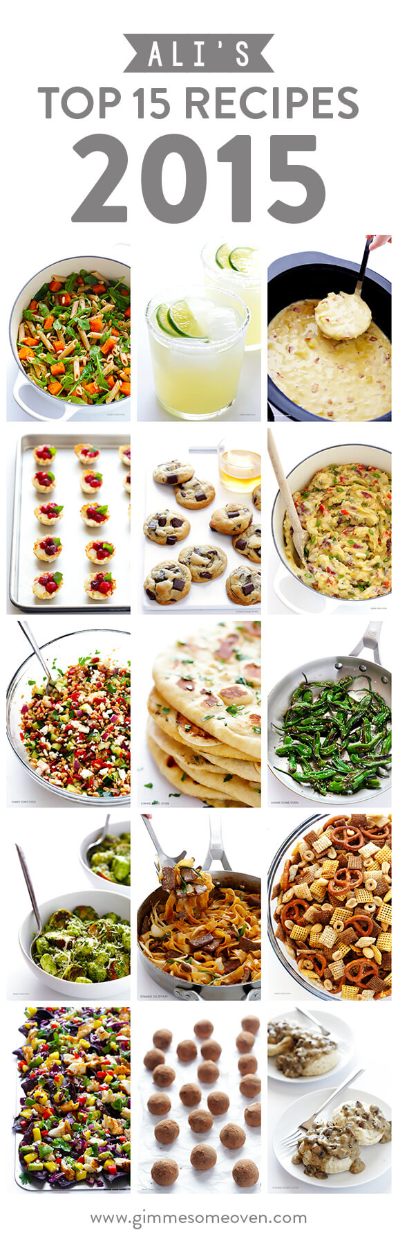 Ali's Top 15 Recipes of 2015 | gimmesomeoven.com