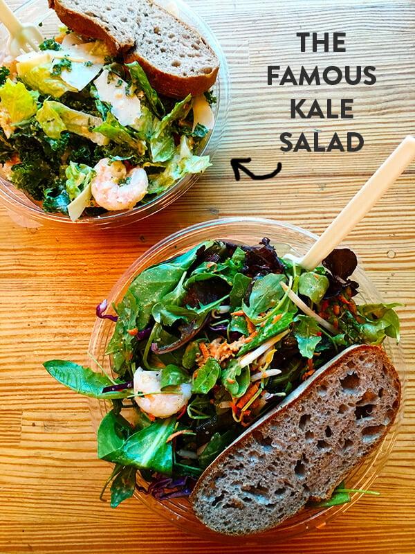 crispy chicken caesar salad