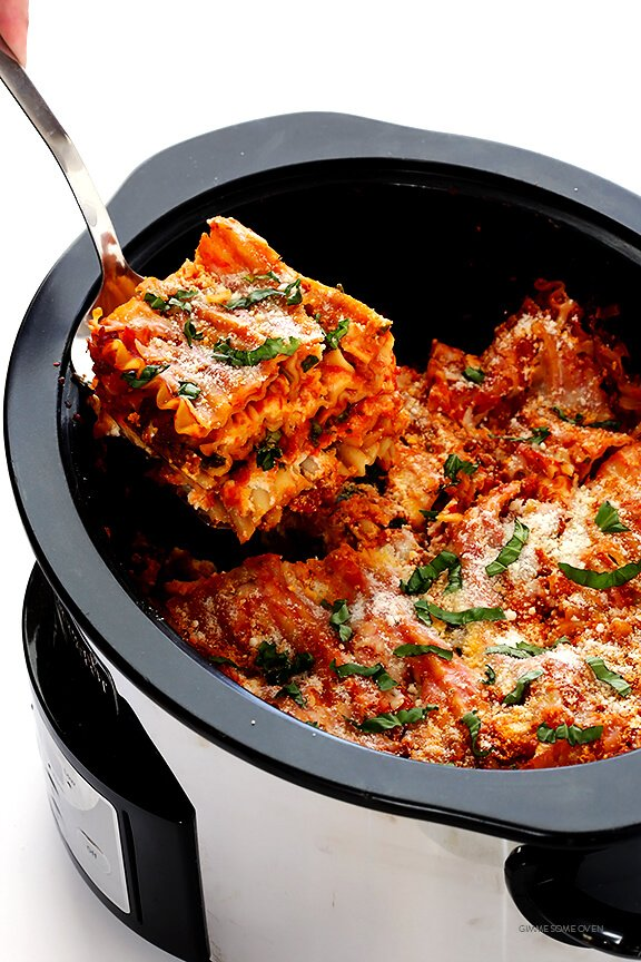 slow cooker lasagna cooker lasagna gimme some oven 30294