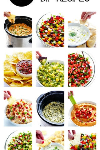 12 Super Bowl Dip Recipes -- these easy recipes are sure to be winners! | gimmesomeoven.com