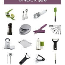 Food blogger Ali Ebright (from Gimme Some Oven) shares her favorite useful and affordable kitchen tools! | gimmesomeoven.com