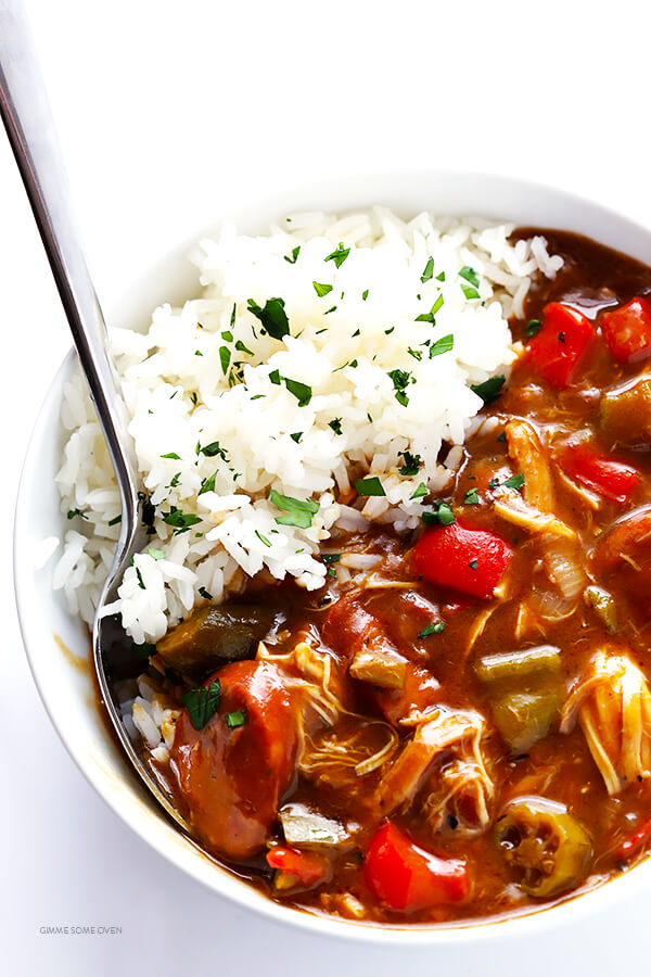 Time Favorite Gumbo Recipe -- made with chicken and andouille sausage ...
