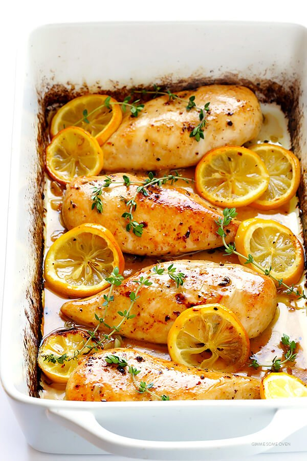 Baked chicken breast recipes easy oven