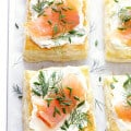 Smoked Salmon and Cream Cheese Pastries 1
