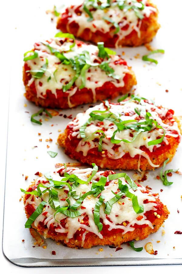 Spicy Baked Chicken Parmesan Gimme Some Oven
