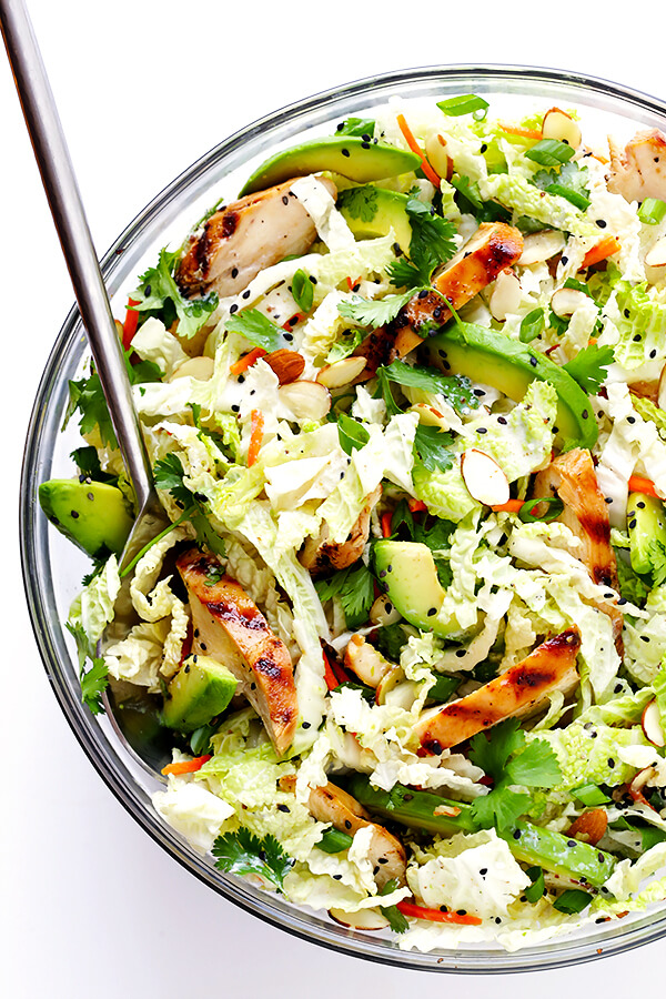 Asian Chicken Chopped Salad | Gimme Some Oven | Bloglovin'