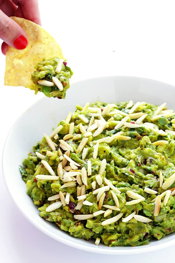 Toasted Almond and Chipotle Guacamole