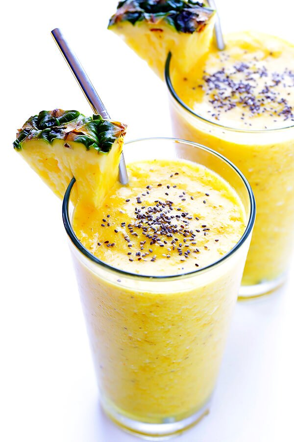 Feel-Good Pineapple Smoothie | Gimme Some Oven