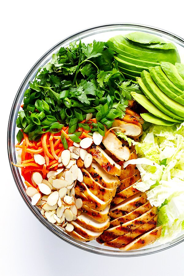 chicken salad recipes Asian