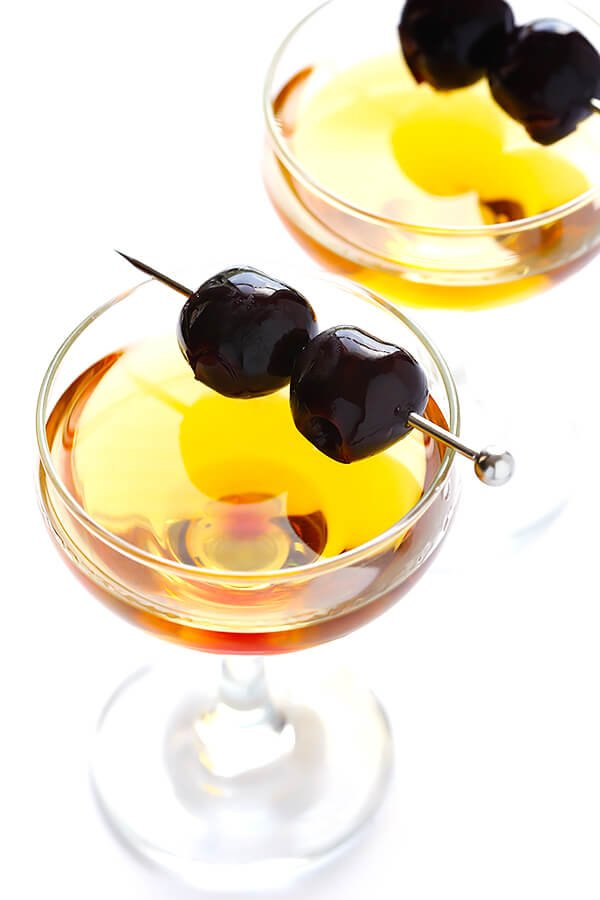This Bourbon-Soaked Cherries recipe is super-easy to make, naturally ...