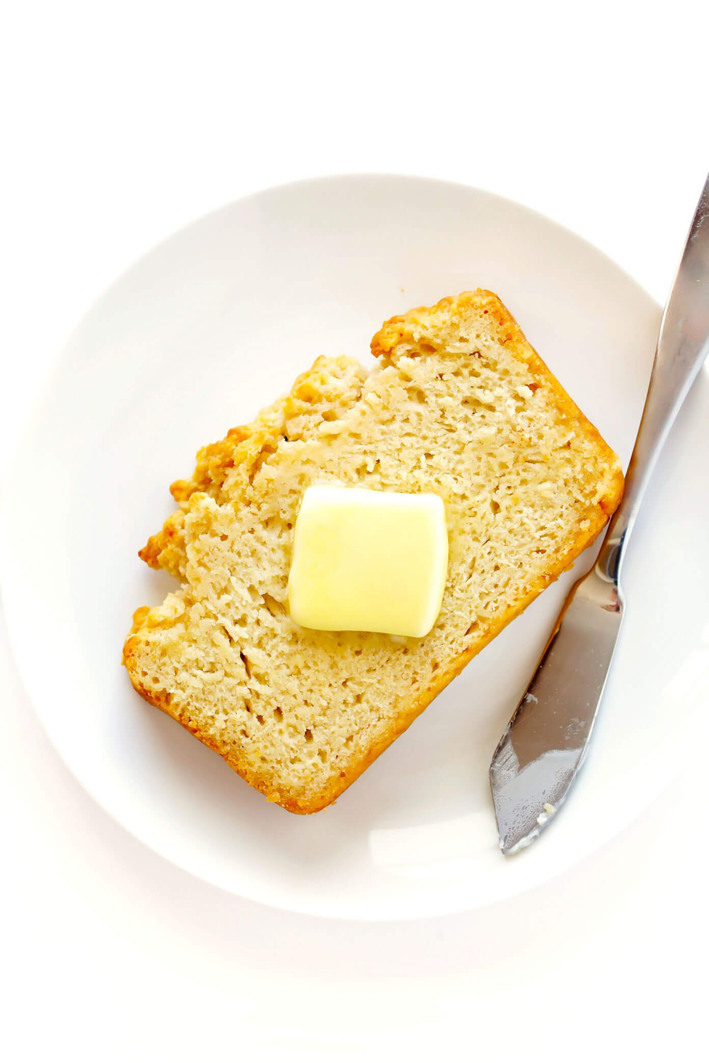 Honey Beer Bread with Butter